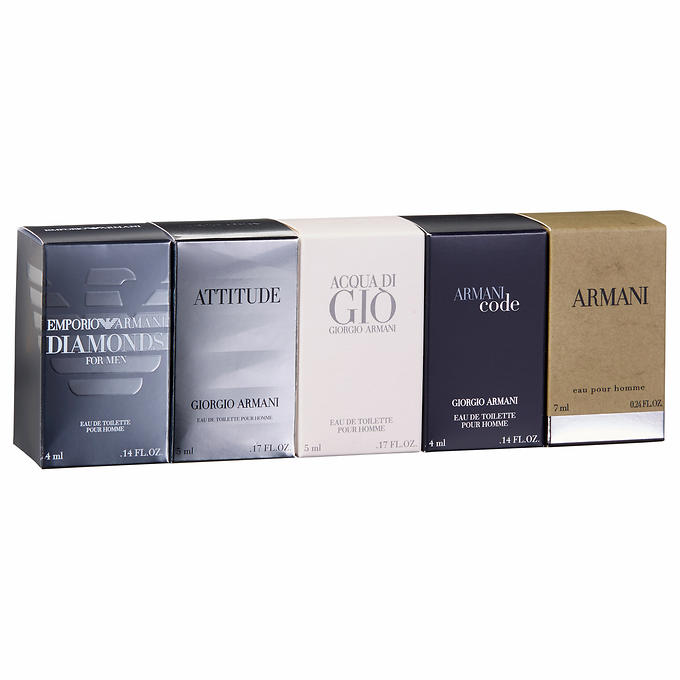 Armani Coffret 5-piece Set