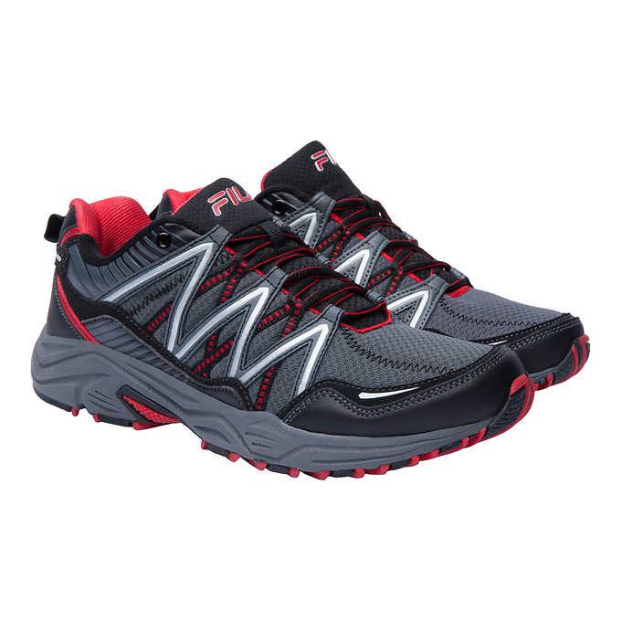 Fila® Men's Trail Running Shoe, Gray