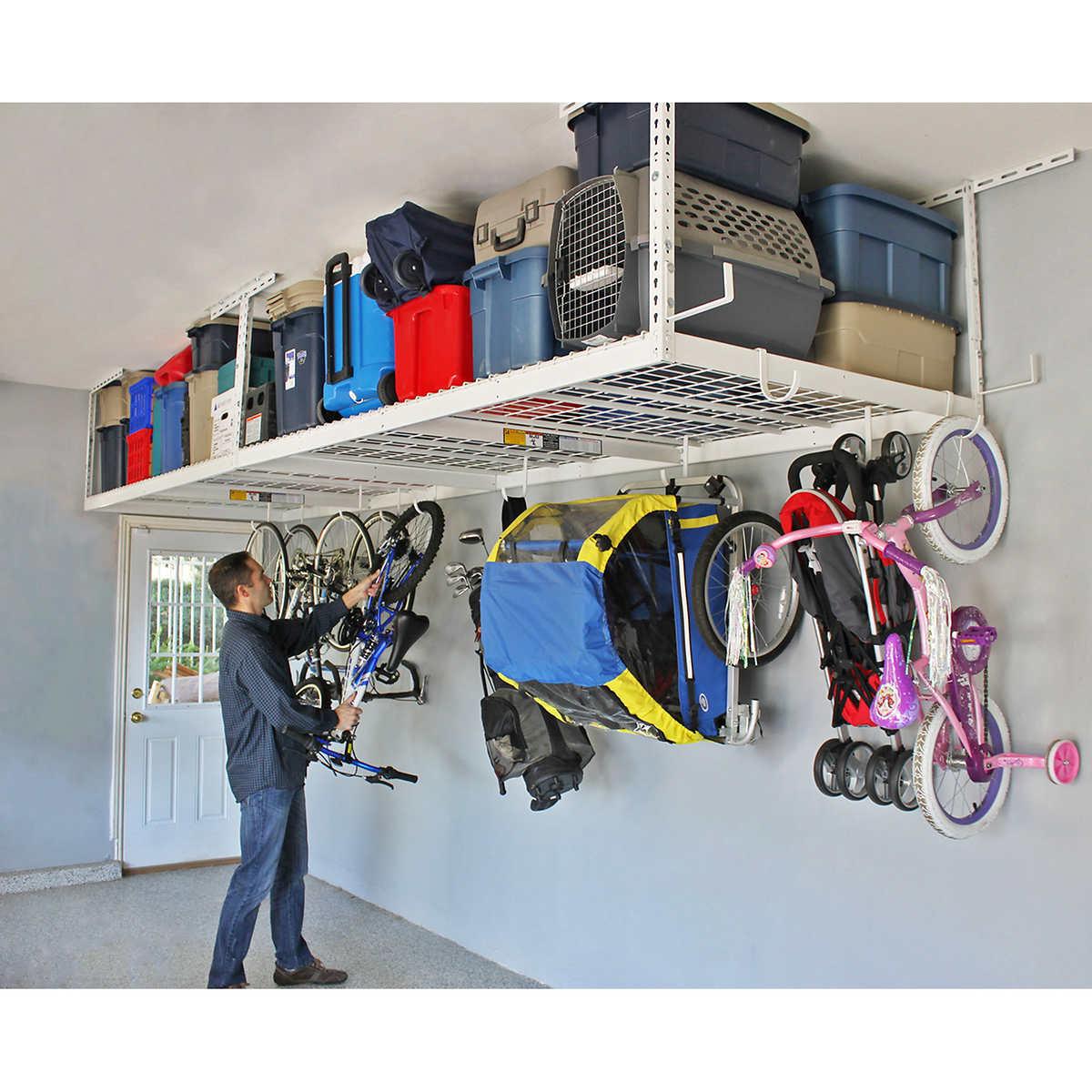 SafeRacks Overhead Garage Storage Combo Kit