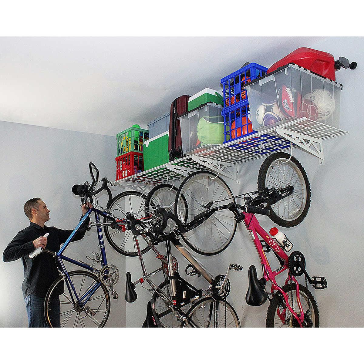 SafeRacks Wall Shelf Combo Kit