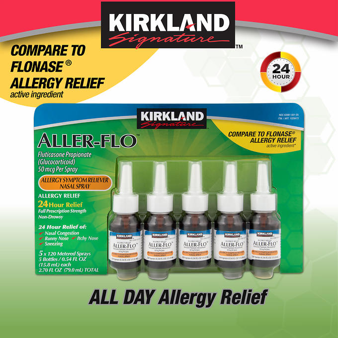 Kirkland Signature Aller-Flo, 600 Spray Count
