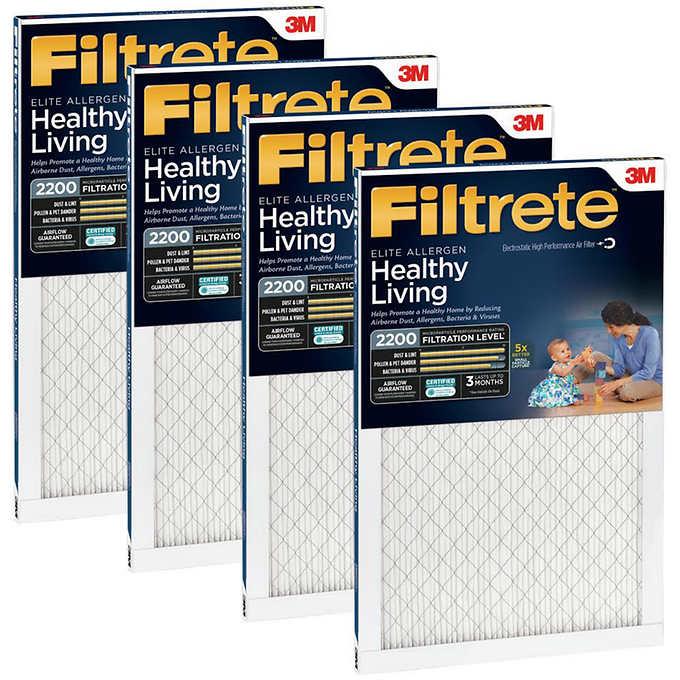 3M 2200 Series Filtrete Filter 4-pack
