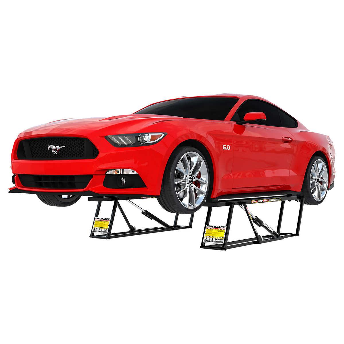 QuickJack 5,000-LB Capacity Portable Car Lift for $999.99 ...
