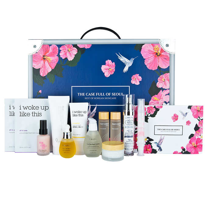 he Case Full Of Seoul, Best Of Korean Skincare, 11-piece Set